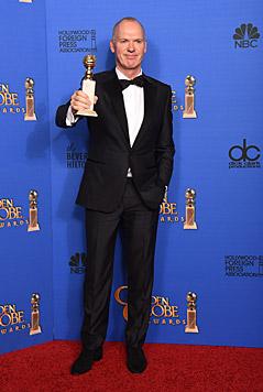 Michael Keaton setzte sich gegen Christoph Waltz durch.