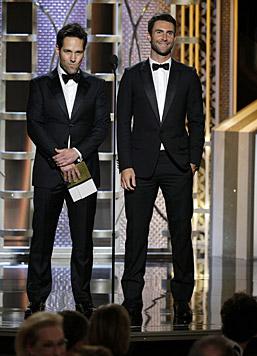 Paul Rudd und Adam Levine