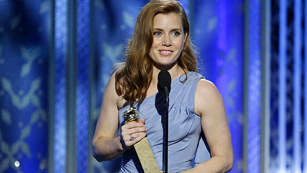 Amy Adams bekam den Preis als beste Hauptdarstellerin in einer Komödie.