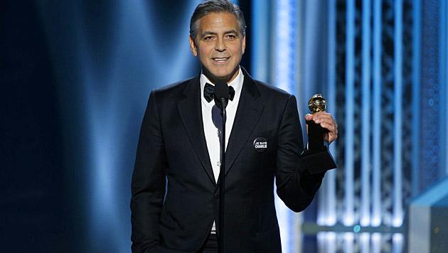 George Clooney bekam den Cecil-B.-DeMille-Preis für sein Lebenswerk.