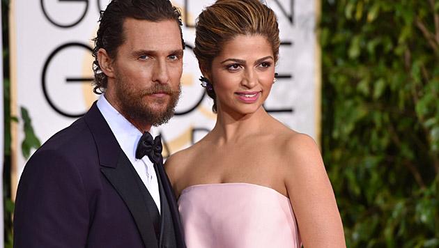 Matthew McConaughey und Ehefrau Camila Alves