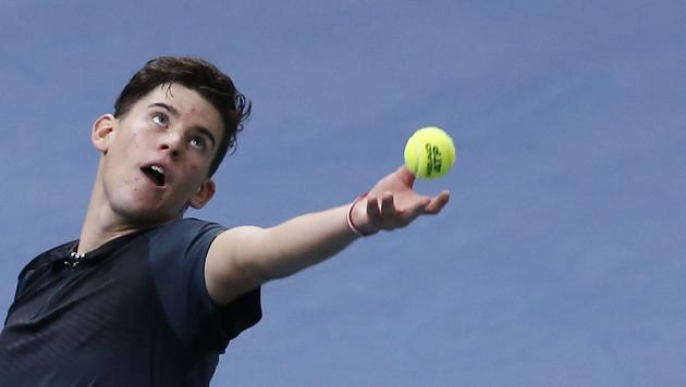 Dominic Thiem verzichtet auf Daviscup in Schweden (Bild: APA/EPA/IAN LANGSDON)
