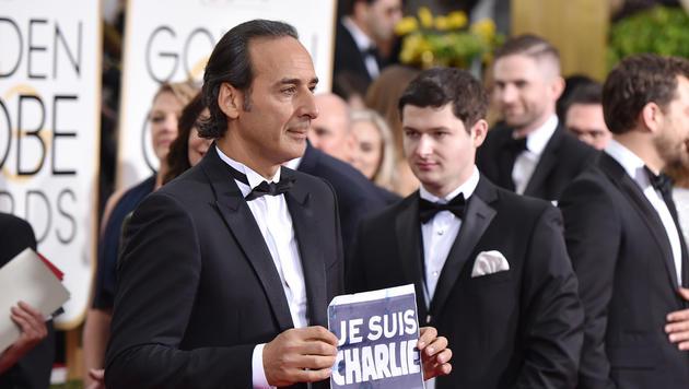 Der französische Komponist Alexandre Desplat (Bild: John Shearer/Invision/AP)