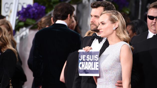 Diane Kruger und Joshua Jackson (Bild: Jordan Strauss/Invision/AP)