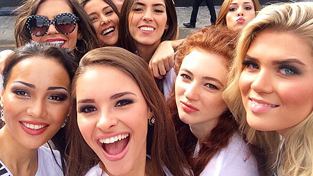 Julia hat in Miami schon viele Freundschaften geknüpft. (Bild: Julia Furdea)