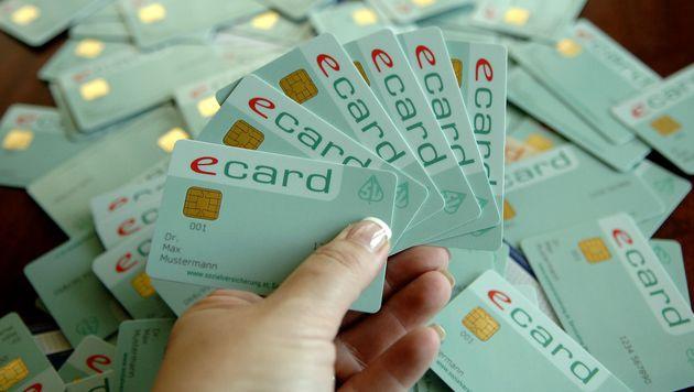 Rund 200.000 e-cards pro Jahr verschwunden (Bild: APA/BARBARA GINDL)