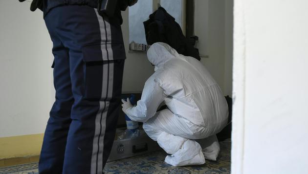 Axt-Mord in Wien: Täter lebte neben Leiche (Bild: APA/HELMUT FOHRINGER)