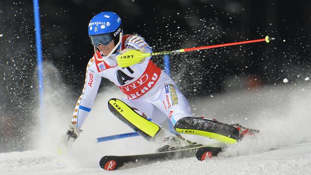 Hansdotter holt sich Sieg in Flachau - Hosp 7. (Bild: AP)