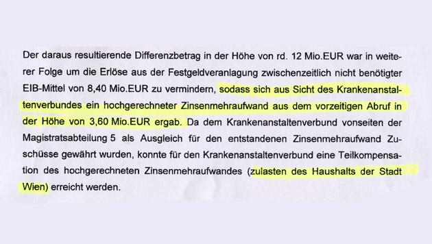 """3,6 Steuermillionen bei Spitalsbau verschwunden (Bild: """"Krone"""")"""