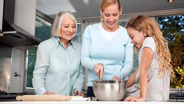 Omas Tricks helfen bei Pannen in der Küche (Bild: thinkstockphotos.de)