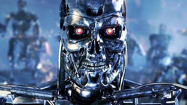Robo-Revolution könnte zu sozialen Unruhen führen (Bild: facebook.com/terminator2)