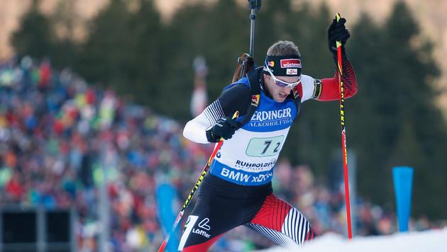 Biathlon: ÖSV-Quartett auf fünftem Staffelrang (Bild: GEPA)