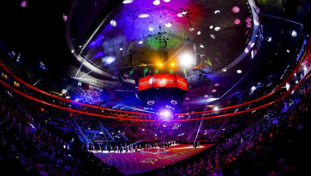 Bombastische Show: Handball-WM in Katar eröffnet (Bild: APA/Qatar 2015/DIEGO AZUBEL)