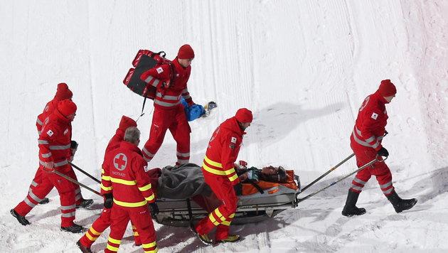 Fairall spürt nach Sturz-Drama seine Beine wieder! (Bild: APA/EPA/DANIEL KARMANN)