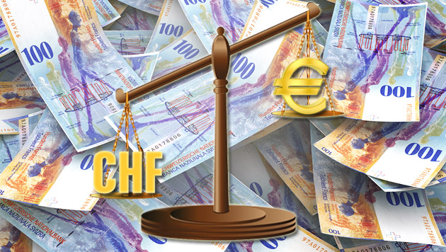 Frankenkredite: Rückzahlung wird massiv teurer (Bild: thinkstockphotos.de, krone.at-Grafik)