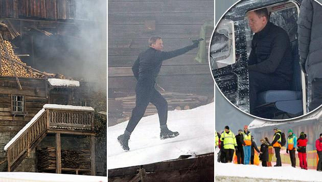 James Bond ballert jetzt in Obertilliach (Bild: APA/EXPA/JOHANN GRODER)