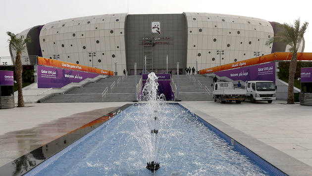 Duhail Sports Hall (Bild: APA/EPA/VALDRIN XHEMAJ)