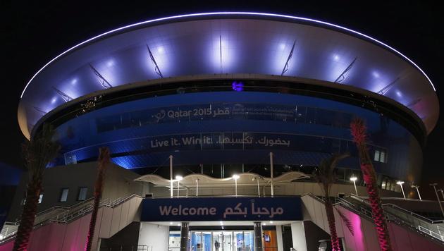 In der Ali Bin Hamad Al Attiya Arena werden die Österreicher ihre Spiele absolvieren. (Bild: APA/EPA/Ali Haider)
