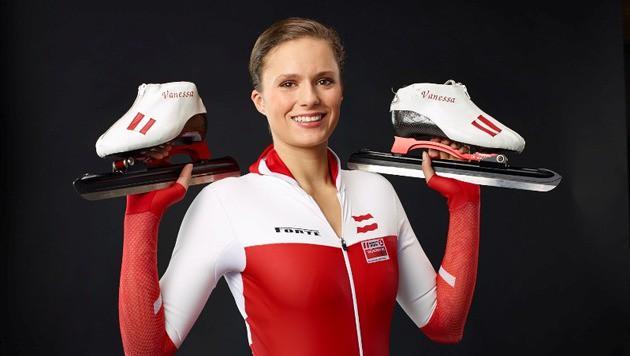 Eisschnelllauf-Hoffnung Vanessa und ihr Mega-Traum (Bild: Ibelieveinyou.at)