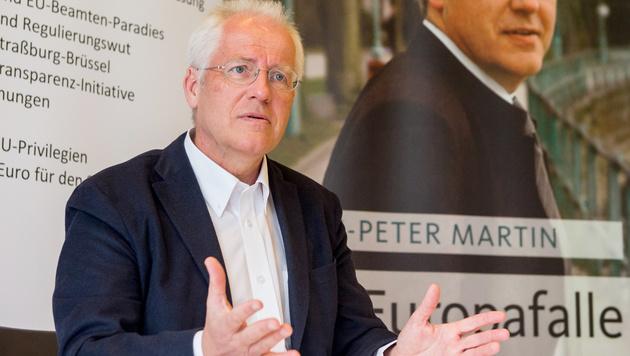 Ermittlungen gegen Hans-Peter Martin eingestellt (Bild: APA/DIETMAR STIPLOVSEK)