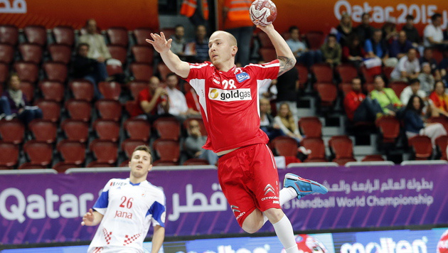 Handballer verpassen Sensation gegen Kroatien (Bild: APA/Qatar 2015 via epa/Armando Babani)