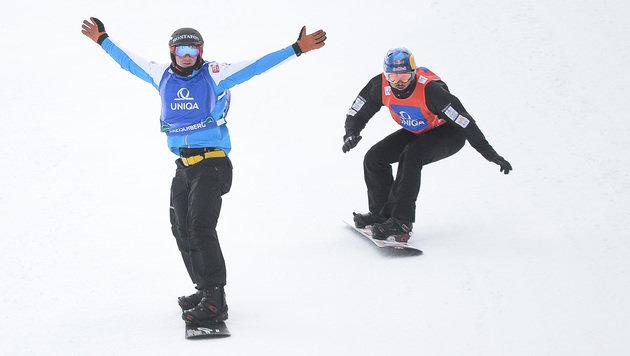Snowboard-Cross: Hämmerle wurde starker Fünfter! (Bild: APA/BARBARA GINDL)