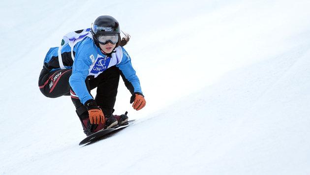 Maria Ramberger war mit Platz 10 unzufrieden (Bild: APA/BARBARA GINDL)