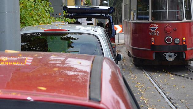 2.000 Falschparker blockierten die Wiener Öffis (Bild: AIT)
