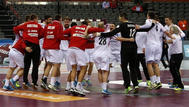 Erster Sieg! Handballteam gegen Bosnien bärenstark (Bild: APA/Qatar 2015 via epa/Fehim Demir)