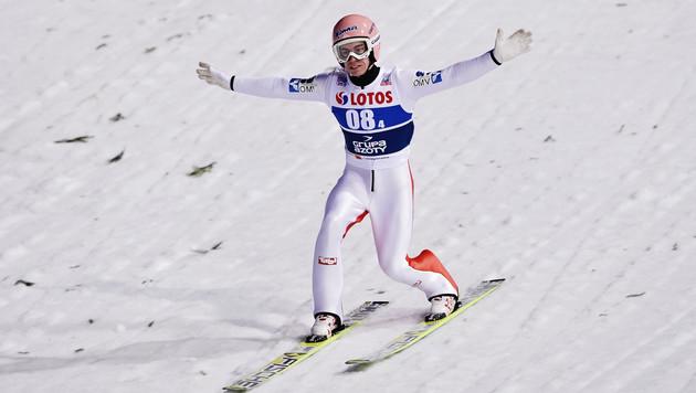 Stefan Kraft in Zakopane hinter Stoch Zweiter! (Bild: GEPA pictures)