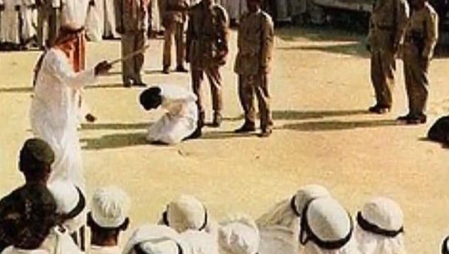 Öffentliche Hinrichtung in Saudi-Arabien (Bild: YouTube.com (Symbolbild))