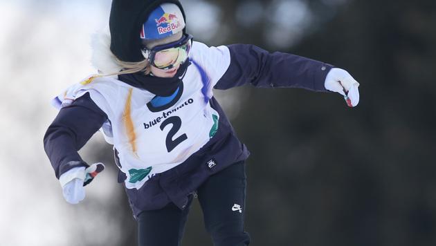 Anna Gasser erreicht Slopestyle-Finale (Bild: APA/BARBARA GINDL)