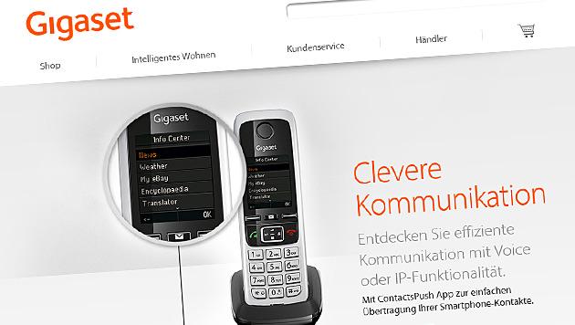 Gigaset steigt ins Smartphone-Geschäft ein (Bild: gigaset.com)