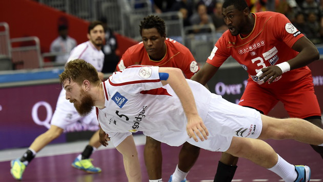 Österreichs Handballer nur Remis gegen Tunesien (Bild: APA/Qatar 2015 via epa/Gjorgji Licovski)