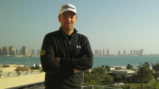 "Bernd Wiesberger in Doha: ""Will in die Top-50"" (Bild: Stefanie Riegler)"