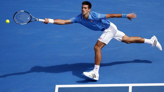 Djokovic und Williams legten mit Auftaktsiegen los (Bild: APA/EPA/Barbara Walton)
