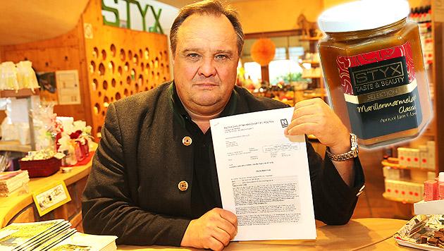 Heimischer Marmeladeproduzent muss Strafe zahlen (Bild: Peter Tomschi, krone.at-Grafik)