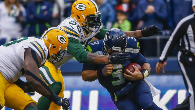 Seattle Seahawks schafften den NFL-Finaleinzug (Bild: APA/EPA/TANNEN MAURY)