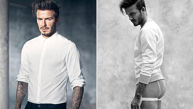 Erneut arbeitet David Beckham mit H&M zusammen. (Bild: H&M)