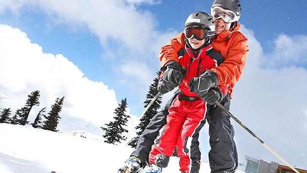 sicher und mit freude so lernt ihr kind skifahren auf die brettchen familie. Black Bedroom Furniture Sets. Home Design Ideas