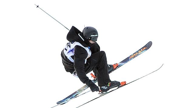 Ski-Slopestyler Moosmann knapp an Bronze vorbei (Bild: APA/BARBARA GINDL)