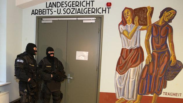 1. Dschihad-Prozess: Angeklagter bestreitet alles (Bild: Zwefo)