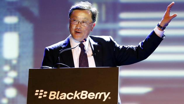 Blackberry-Chef fordert Apps für alle Plattformen (Bild: APA/EPA/MAST IRHAM)