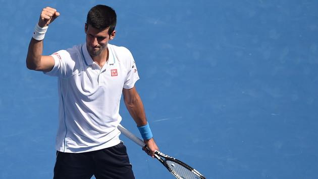 Djokovic und Wawrinka spazieren in die 3. Runde (Bild: APA/EPA/Filip Singer)