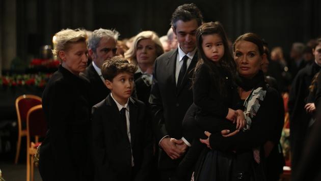 Jenny Jürgens mit Familie (Bild: Gerhard Bartel)