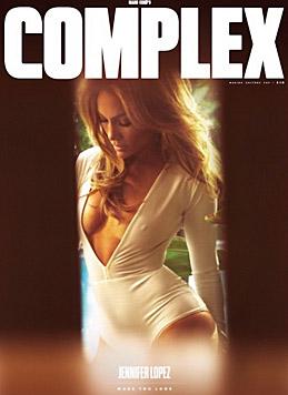 """Im """"Complex""""-Magazin zeigt sich Jennifer Lopez mal wieder besonders sexy. (Bild: Viennareport)"""