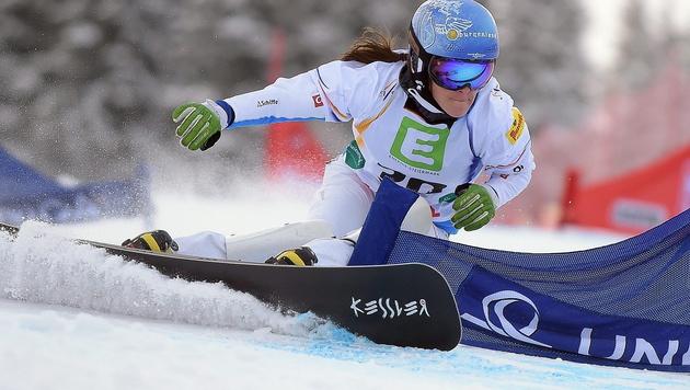 Julia Dujmovits holt Silber, Marion Kreiner Bronze (Bild: APA/EPA/BARBARA GINDL)