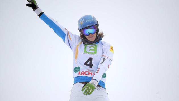 Julia Dujmovits holt Silber, Marion Kreiner Bronze (Bild: APA/BARBARA GINDL)