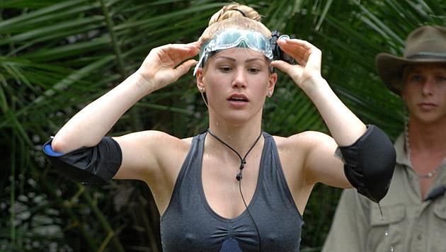 Einmal musste Angelina schon zur Dschungelprüfung, am Freitag muss sie ein zweites Mal ran. (Bild: RTL/Stefan Menne)