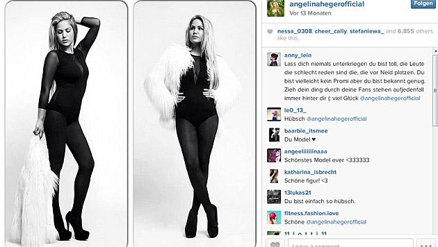 Angelina Heger (Bild: instagram.com/angelinahegerofficial)